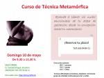 Cartel TecnicaMetamorfica CRISOL